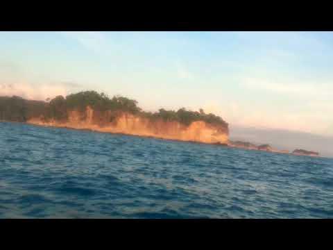 Costa Rica at sunset on a jet ski