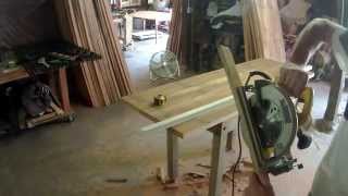 one way to cut a tabletop to size