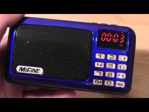REVIEW: Mifine Music Box - HiFi Radio & Mp3 Player (2015)