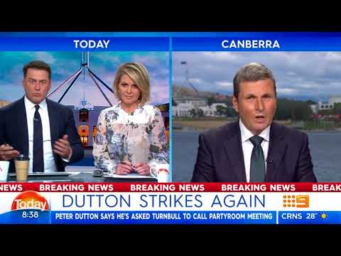 Dutton strikes again | Nine News Australia