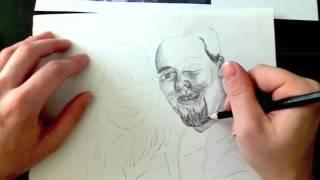 Tracing a portrait