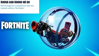 "Fortnite ""The Baller"" Vehicle New Update Countdown + Gameplay! (Fortnite New Update)"