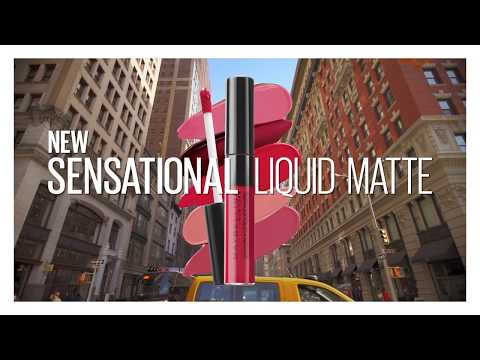 #NewLiquidSensation | Sensational Liquid Matte