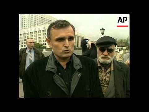 RUSSIA: MOSCOW: IRISH PM AHERN MEETS VLADIMIR PUTIN