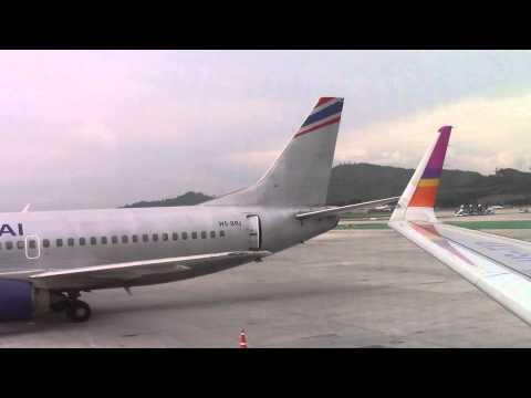 Orient Thai Boeing 737 at Phuket Airport
