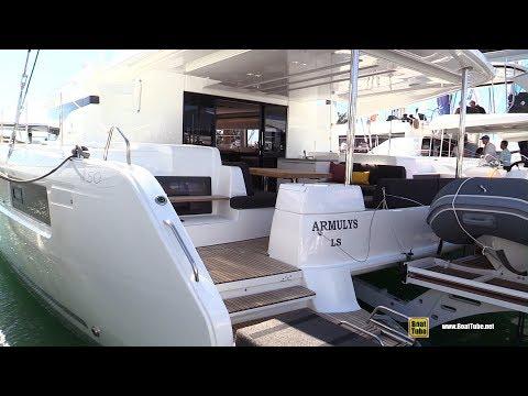 2019 Lagoon 50 Catamaran - Deck And Interior Walkthrough - 2019 Miami Boat Show