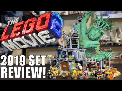 LEGO Movie 2 2019 WELCOME TO APOCALYPSEBURG Review! Set 70840!