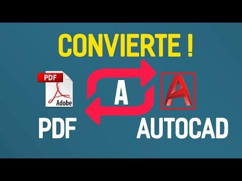 como-convertir-de-pdf-a-autocad-sin-programas-desde-autocad-/-2020