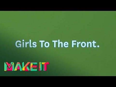 MAKE IT 2017 - Ngaio Parr, Jane Connory, Niccola Phillips, Jim Antonopoulos - Girls to the front
