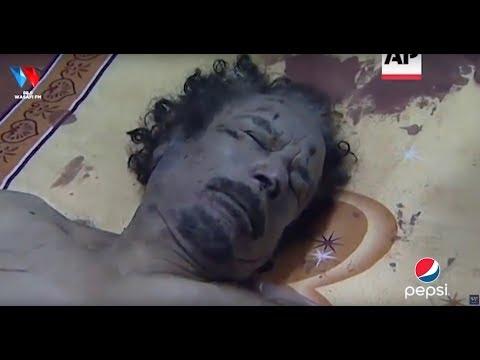 MUAMMAR GADDAFI: RAIS ALIYEVULIWA NGUO NA KUBURUZWA BARABARANI/ MWILI WAKE KUKAA BUCHANI HADI KUOZA