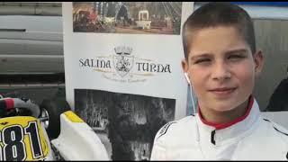 Darius Babaioana, la cea mai importantă competiție mondială de karting! (11.10.2019)