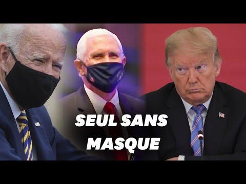 Donald Trump plus isolé que jamais sur la question du port du masque