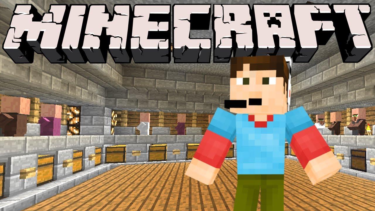 Minecraft - Villager Trading Hall - YouTube
