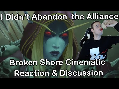World of Warcraft Legion: Broken Shore Cinematic | Alliance & Horde | Reaction & Discussion Video