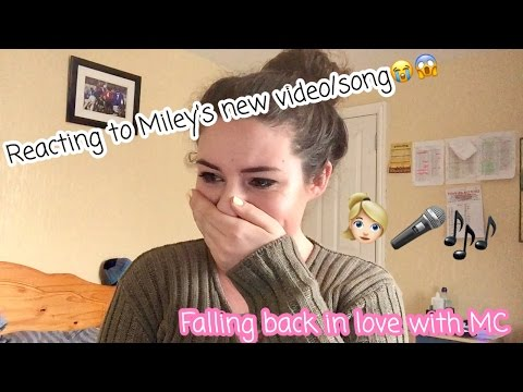 Reacting to Miley Cyrus's NEW Video/Song Malibu - I Cried 😂 | JasEmilyBeauty