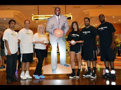 Team Shaq Jack vs Team Tropicana AC in the Blackjack Basketball Championships!