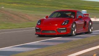 Porsche Cayman GT4 -- TEST/DRIVE