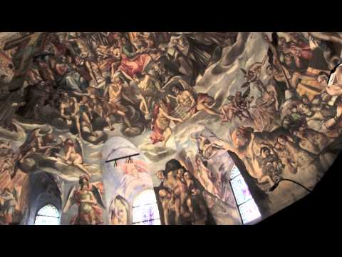 Inside Basilica di San Francesco Assisi [St. Francis of Assisi], Italy, 2010