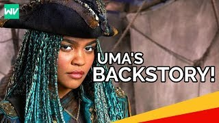 Uma's Backstory! - Ursula's Necklace, Crew and Hatred for Mal: Descendants 2