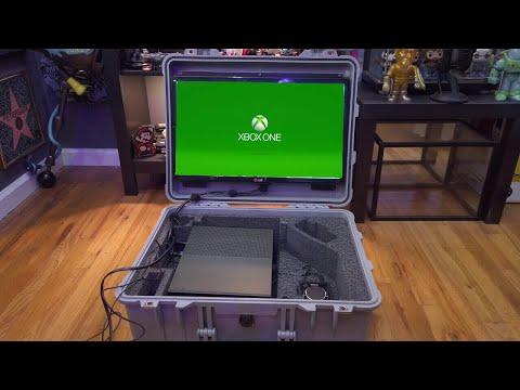My Custom Made Portable Xbox One S