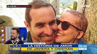 """""""Estuvieron a punto de no coincidir"""": así Javiera Suárez conoció a su esposo Cristián Arriagada"""