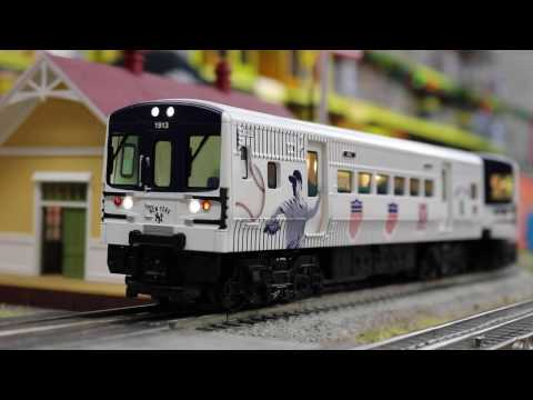Lionel #6-83648 MLB Yankees LionChief RTR Subway Set