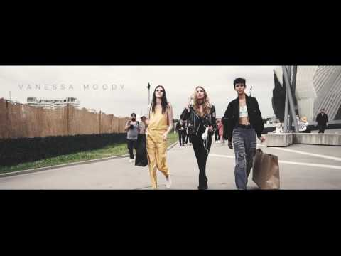 Versace Streetstyle Film with Stella Maxwell - Milan Men's Fashion Week