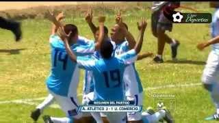 ᴴᴰ► Alianza Atletico vs Union Comercio  2-1 Resumen y Goles - Clausura -    720p HD   - 15/09/2015