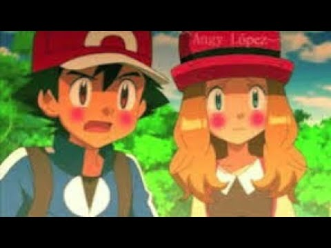 Ash  and  Serena  love  AMV Hindi )pokemon