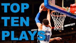 Top Ten NBA Plays Of The Night  | 01.21.17