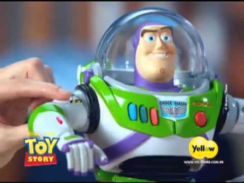 Boneco Robô Buzz Lightyear Space Ranger   Toy Story Collection