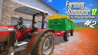 NY TIPPER OG SÅR MINE MARKER! - Farming Simulator 2017 Platinum Edition Dansk Ep 2