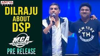 Dil Raju About DSP @ MCA Pre Release Event || Nani, Sai Pallavi || DSP