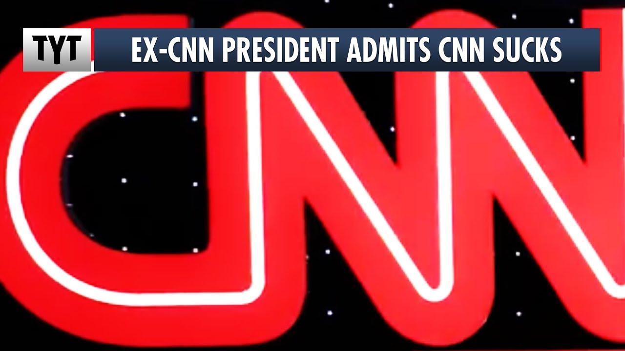 Ex-CNN President Admits CNN Sucks at Journalism