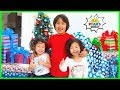 Christmas Morning Opening Presents 2019 with Ryan Emma and Kate!!!