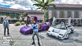 GTA 5 REAL LIFE MOD #638 - DIABLO VS COUNTACH(GTA 5 REAL LIFE MODS)
