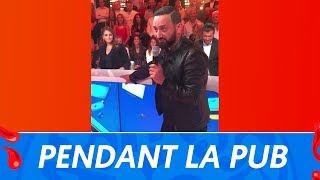TPMP : Pendant la pub, Cyril Hanouna improvise une chanson pour Gilles Verdez !