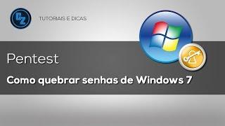 Como Quebrar/Remover senha de login do Windows 7/8/8.1/10