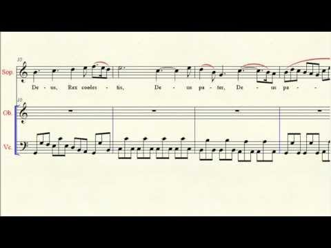 Accompaniment: Gloria in D 6 Domine Deus Rex coelestis - Vivaldi