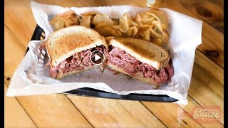 Special Sauce: Corned beef vs. pastrami at The Hero Joint - for St. Patrick's Day