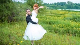 Юлия и Сергей 15 лет вместе.Наша хрустальная свадьба.