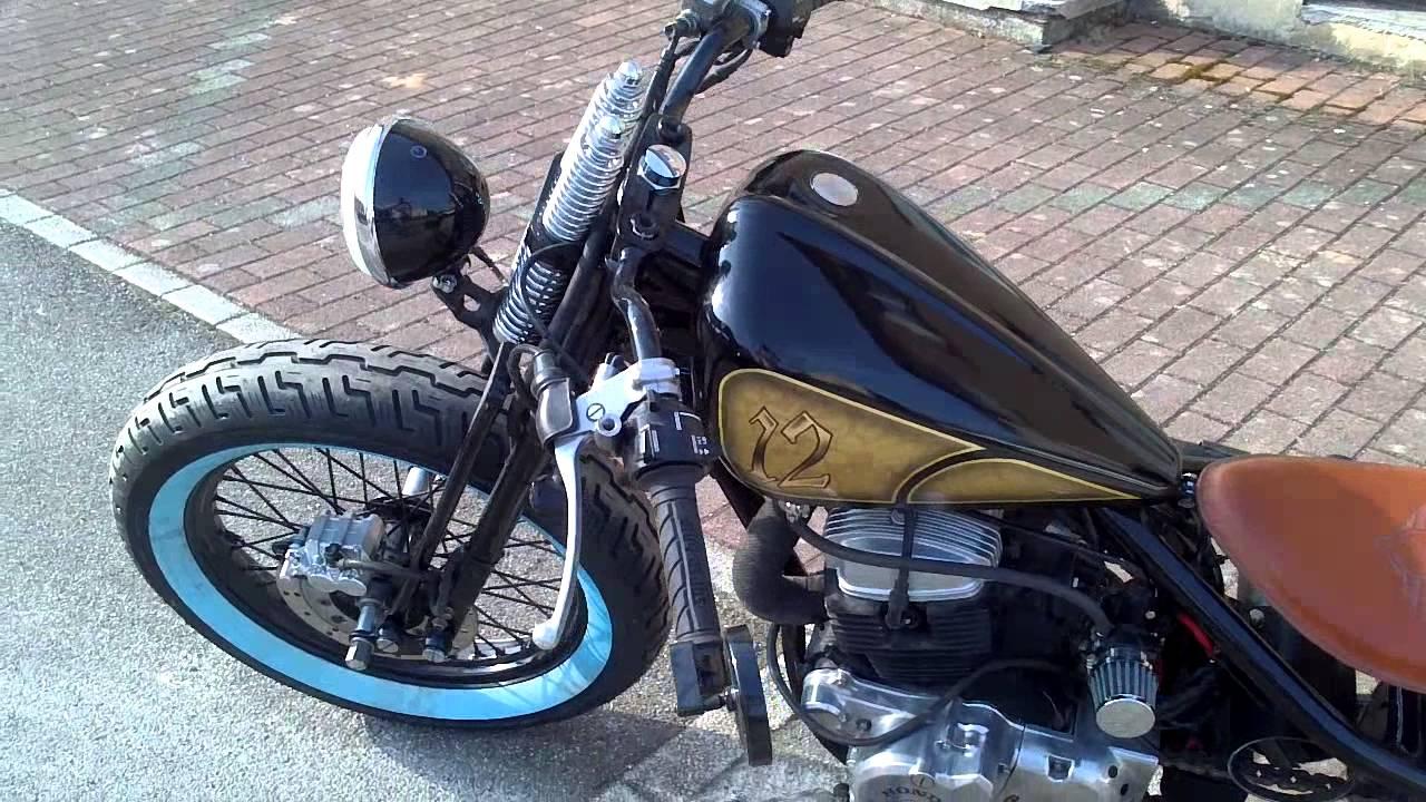 Honda 125cc rebel bobber by pimmelmsa - YouTube