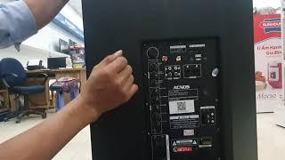 cách chỉnh loa kéo ACNOS hát nhẹ mà không bị rú rít míc