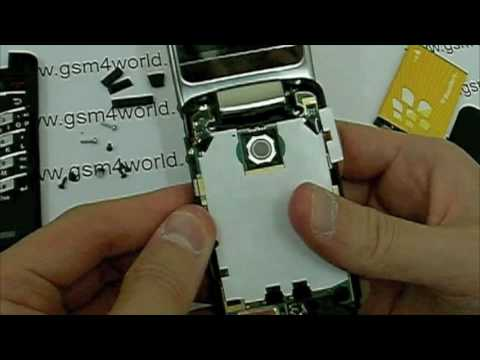 BlackBerry Pearl 8220 8230 flip instructions Guide disassembly tutorial installation part 1