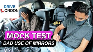 Learner Makes So Many Mirror FAULTS in her Mock Test Days Before Actual Test - New 2021