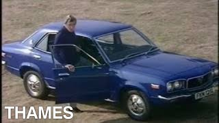 Vintage car | Mazda RX-3  Rotary Engine | Drive in | 1972