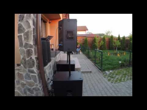 LOUD. RCF TT25A II +  RCF SUB8003AS II Soundcheck.