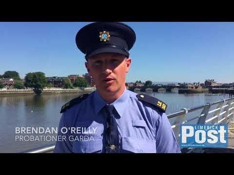Probationer Gardaí in Limerick City