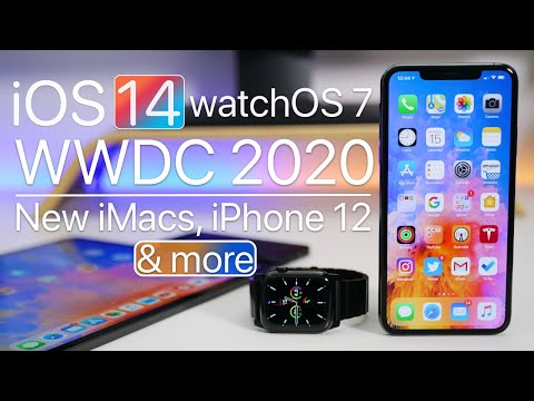 iOS 14 Beta Profile, WWDC 2020, New iMacs, and a Folding iPhone?