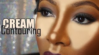 Easy Cream Contour Routine Drugstore Makeup